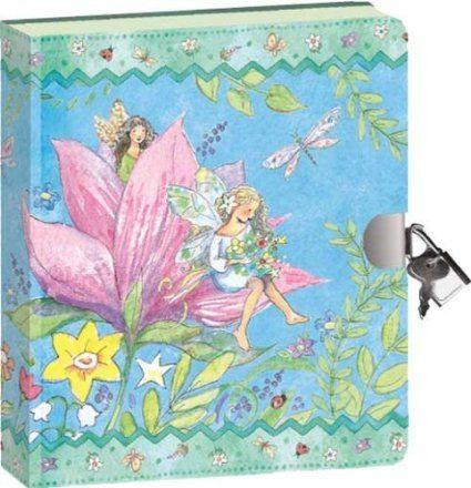 Amazon.com: Peaceable Kingdom / Fairy World Lock & Key Diary: Toys & Games