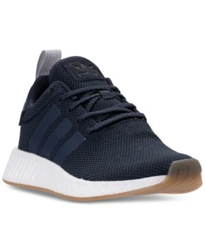 875d2e9eb969e adidas Women s Nmd R2 Casual Sneakers from Finish Line - Blue 9.5 ...