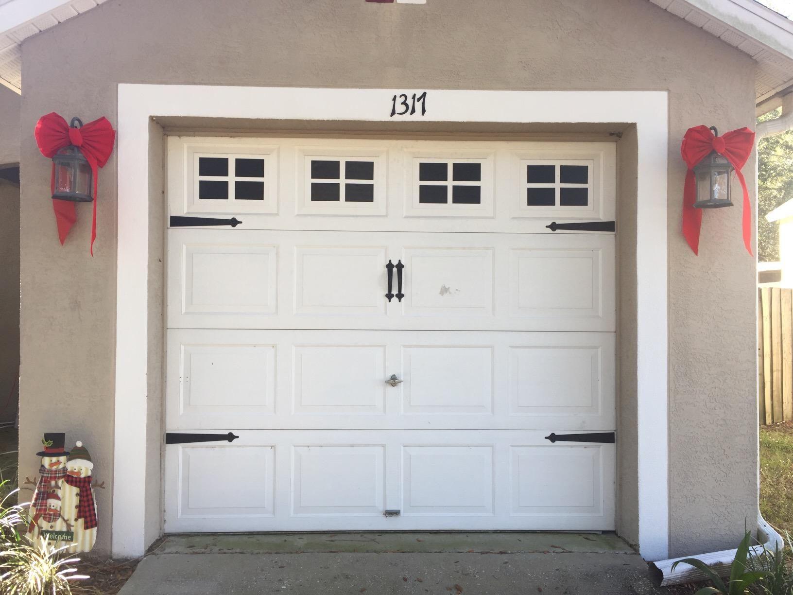 Amazon Com Customer Reviews Decorative Magnetic Garage Door Window Panes Black 2 Car Garage Garage Door Windows Garage Doors Windows And Doors