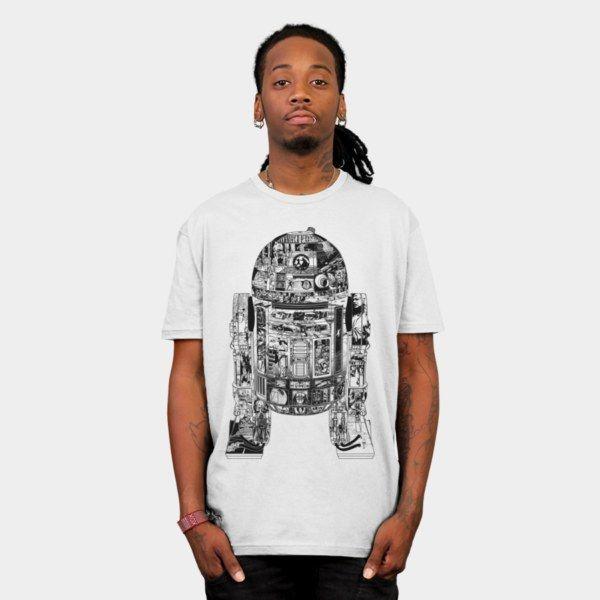 Epic R2-D2 T-Shirt - Star Wars T-Shirt