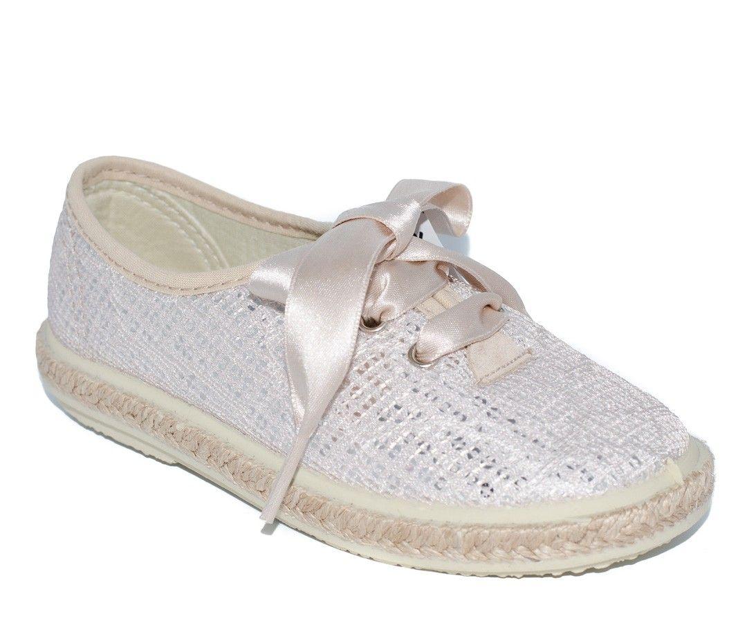 80fa3e0a9 Zapato kudadro platino para niña de Vul-Peques