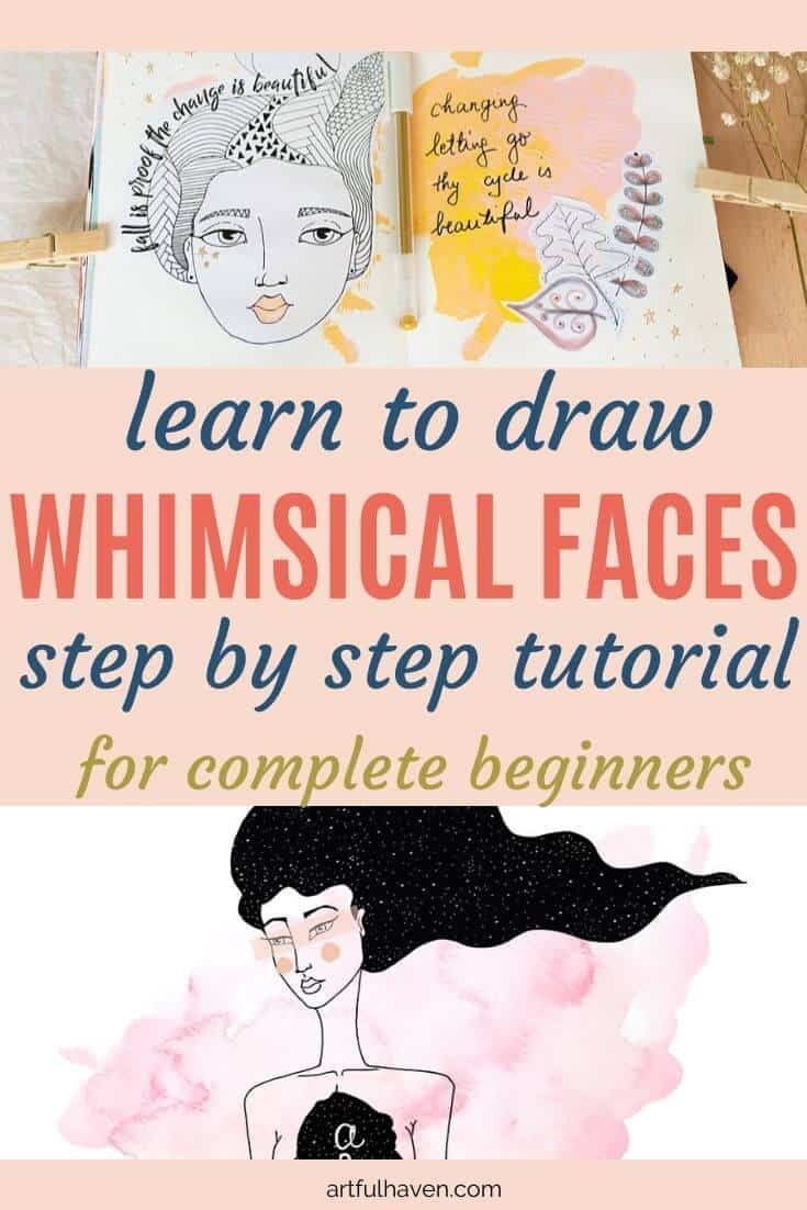 Photo of How to Draw Female Faces Whimsical Style: Tutorial for Beginners