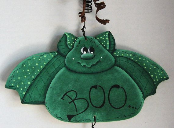 Halloween Decor Holiday Decor JackOLanterns Decorative by jusbcuz, $21.99
