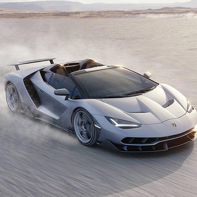 Meet The Lamborghini Centenario Roadster. Built To