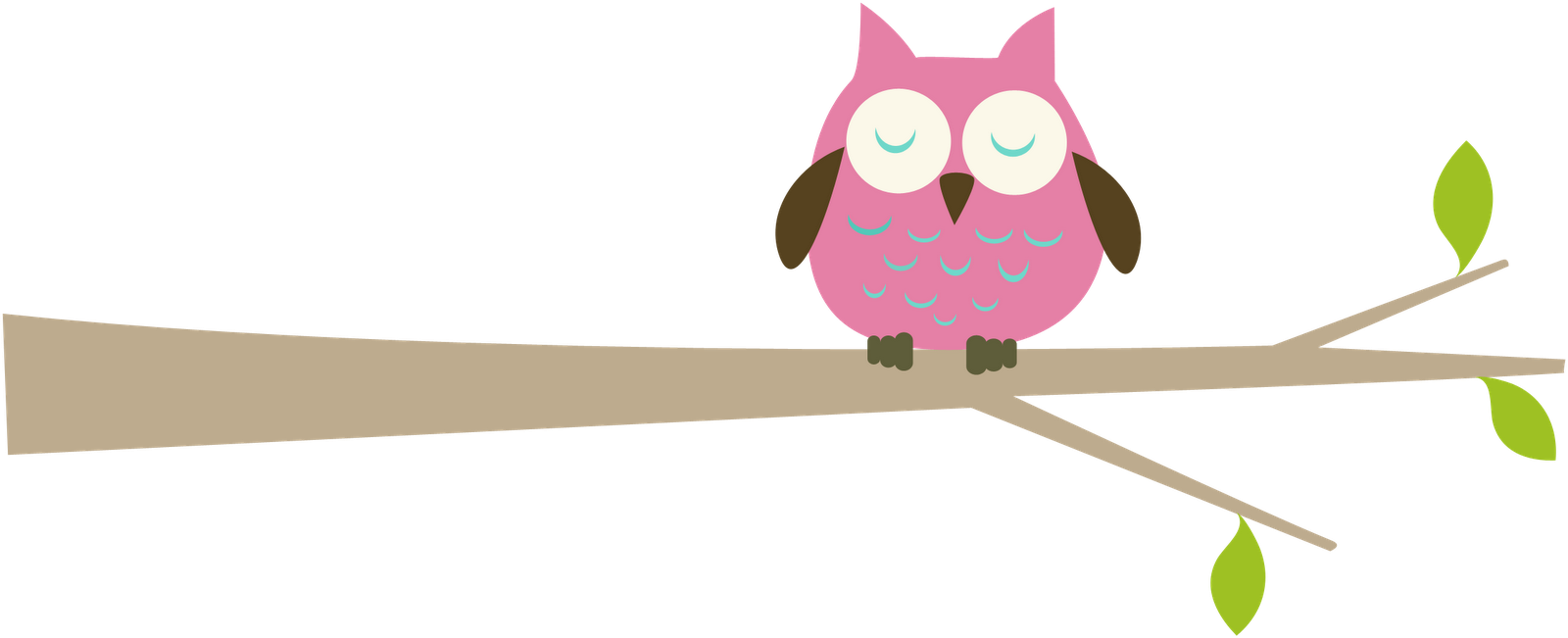 owl borders clip art cliparts co ipexyp clipart png 1600 651 rh pinterest com owl on branch clip art free pink owl on branch clip art