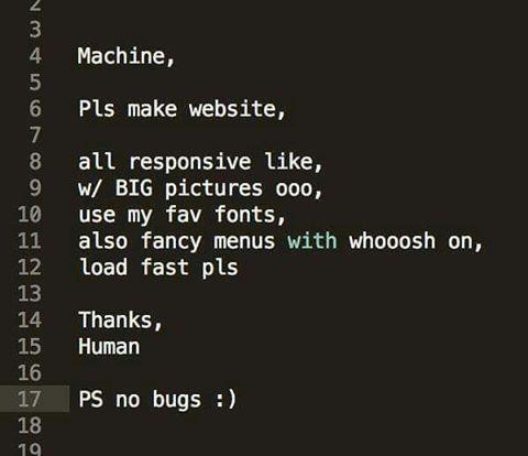 what clients think web developers do #webdesign #webdeveloper - cobol programmer resume