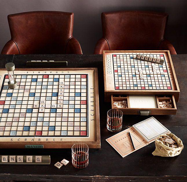 Outstanding Vintage Deluxe Scrabble Living Fun Decorating Coffee Uwap Interior Chair Design Uwaporg