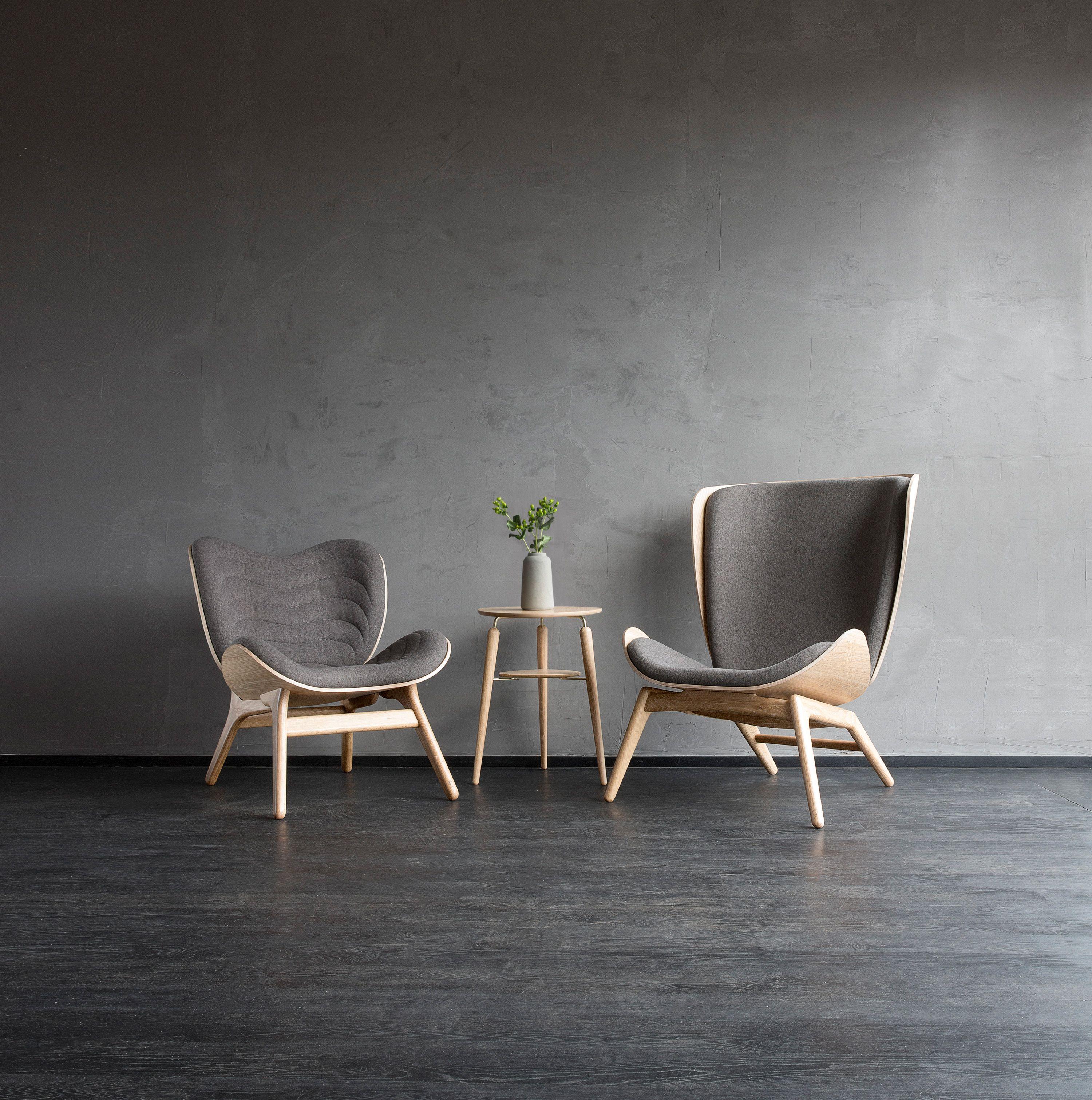 Nous Vous Presentons Ces Deux Fauteuils Au Design Scandinave Imagines Et Dessines Par Les Designers Da Idees De Meubles Relooking De Mobilier Mobilier De Salon