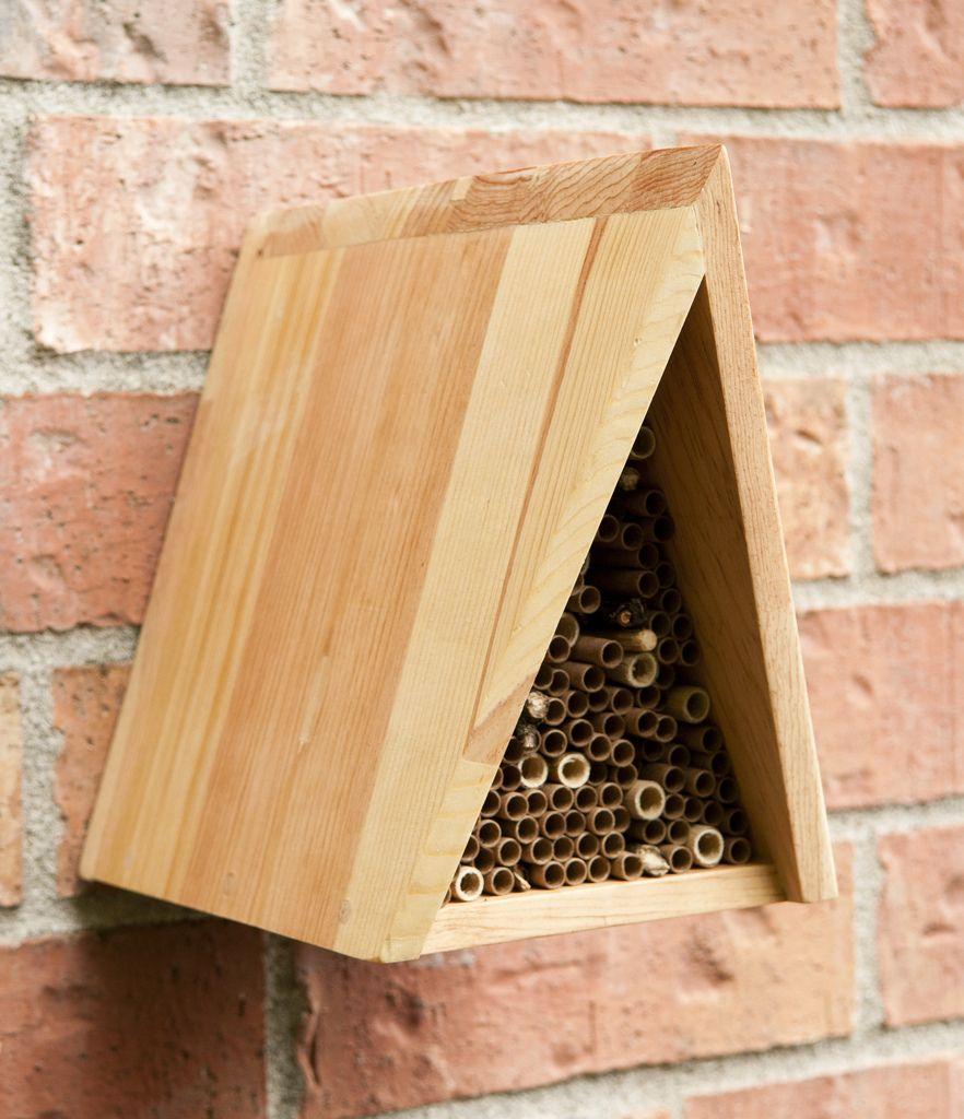 maison pour les abeilles jardin pinterest les abeilles abeilles et insectes. Black Bedroom Furniture Sets. Home Design Ideas