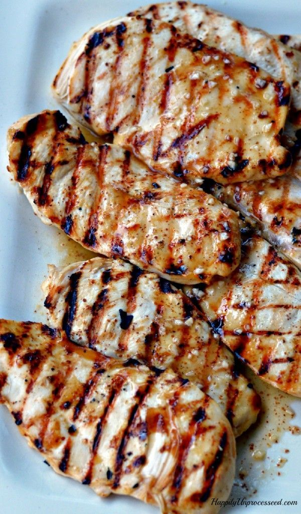Best Grilled Chicken Recipe Happily Unprocessed Best Grilled Chicken Recipe Grilled Chicken Recipes Best Grilled Chicken Marinade