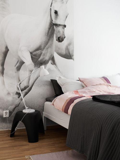 Bedroom oversize print