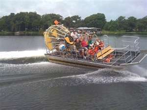 Airboat Ride Lake Panasoffkee....this is where we have stayed the last two winters