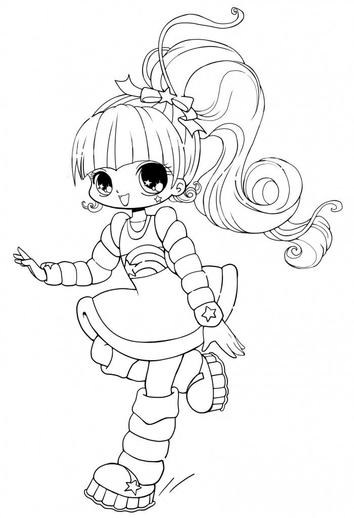 74 Chibi Anime Coloring Pages Printable  Images