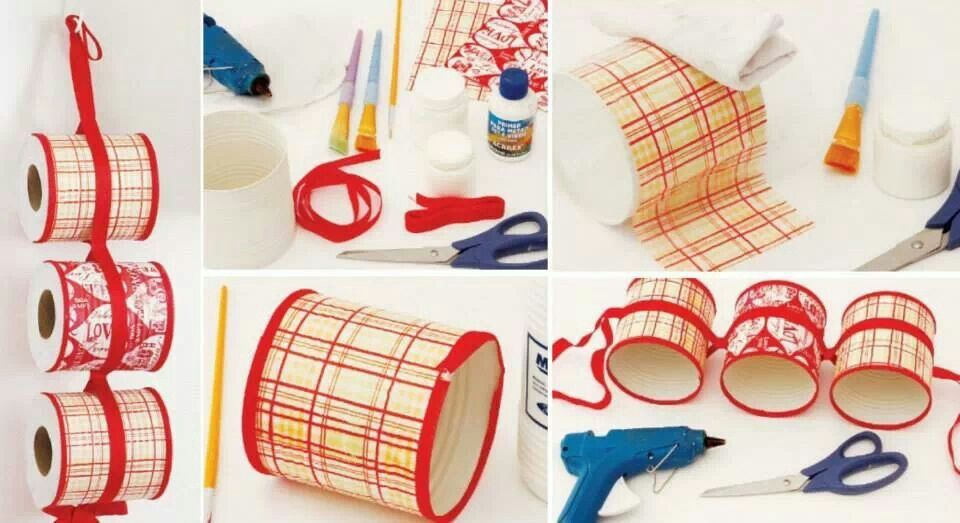 Reutilizacion de latas como porta rollos de papel del baño ...