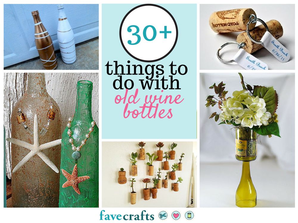 Decoration Ideas With Glass Bottles 30 Things To Do With Old Wine Bottles  Wine Bottle Crafts
