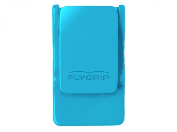 Booming Blue :: FlyGrip One-handed Phone Holder