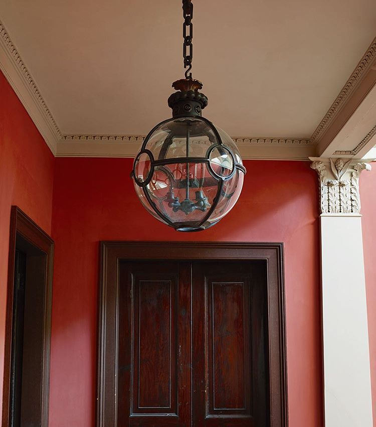 The Convex Globe Lantern Just One Of Many Hanging Lanterns