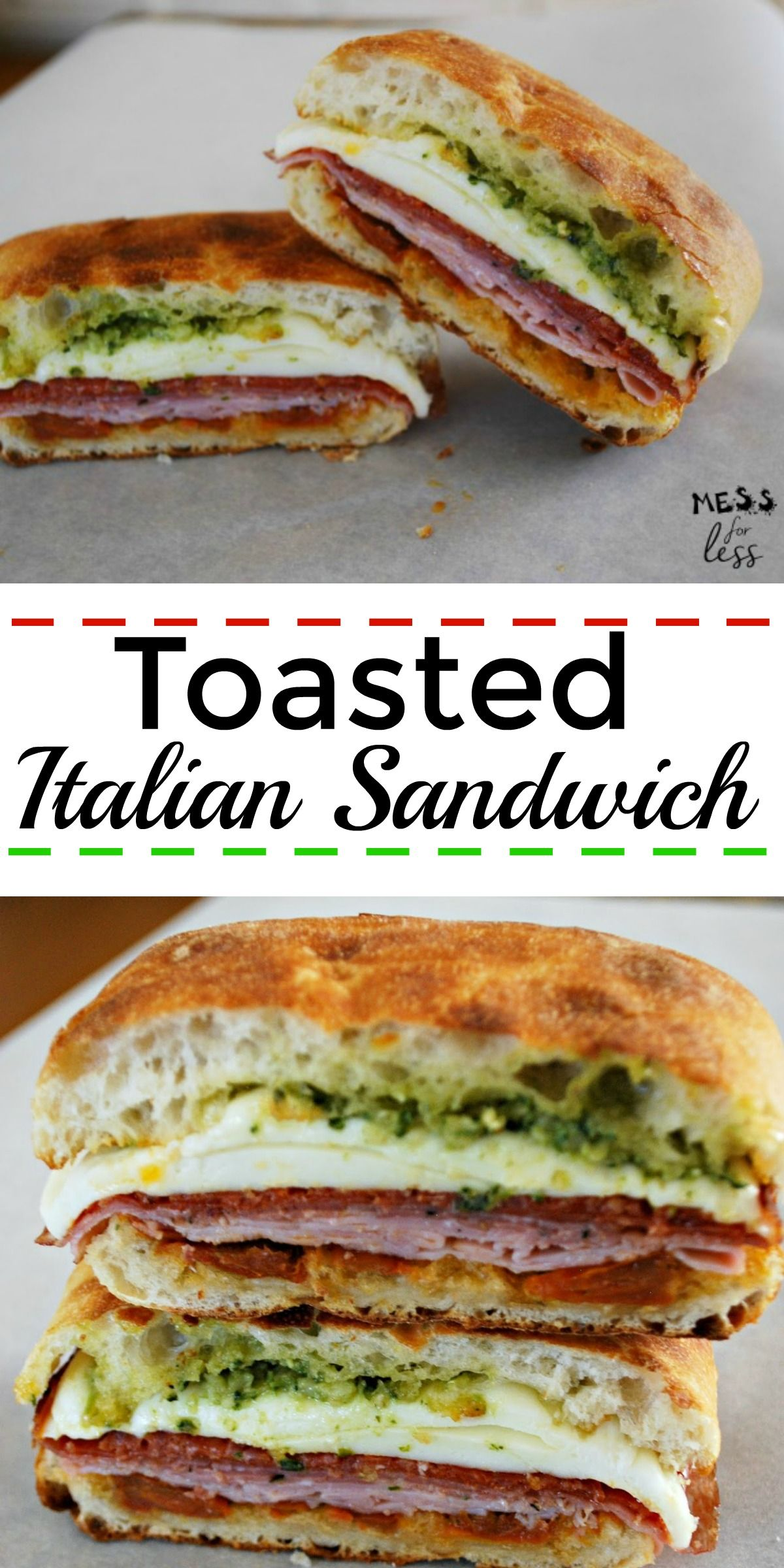 The Best Italian Sandwich Italian Sandwich Recipes Sandwiches Cafe Food