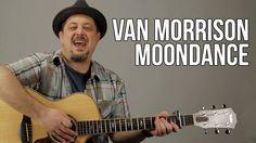 How To Play Van Morrison Moondance Youtube Acoustic Guitar