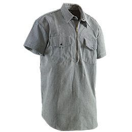 Berne Zip Front ShortSleeve Logger Shirt Item SH93