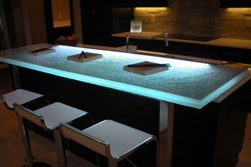 How Glass Is Revolutionizing Kitchen Countertops (3) NHÀ BẾP ĐẸP