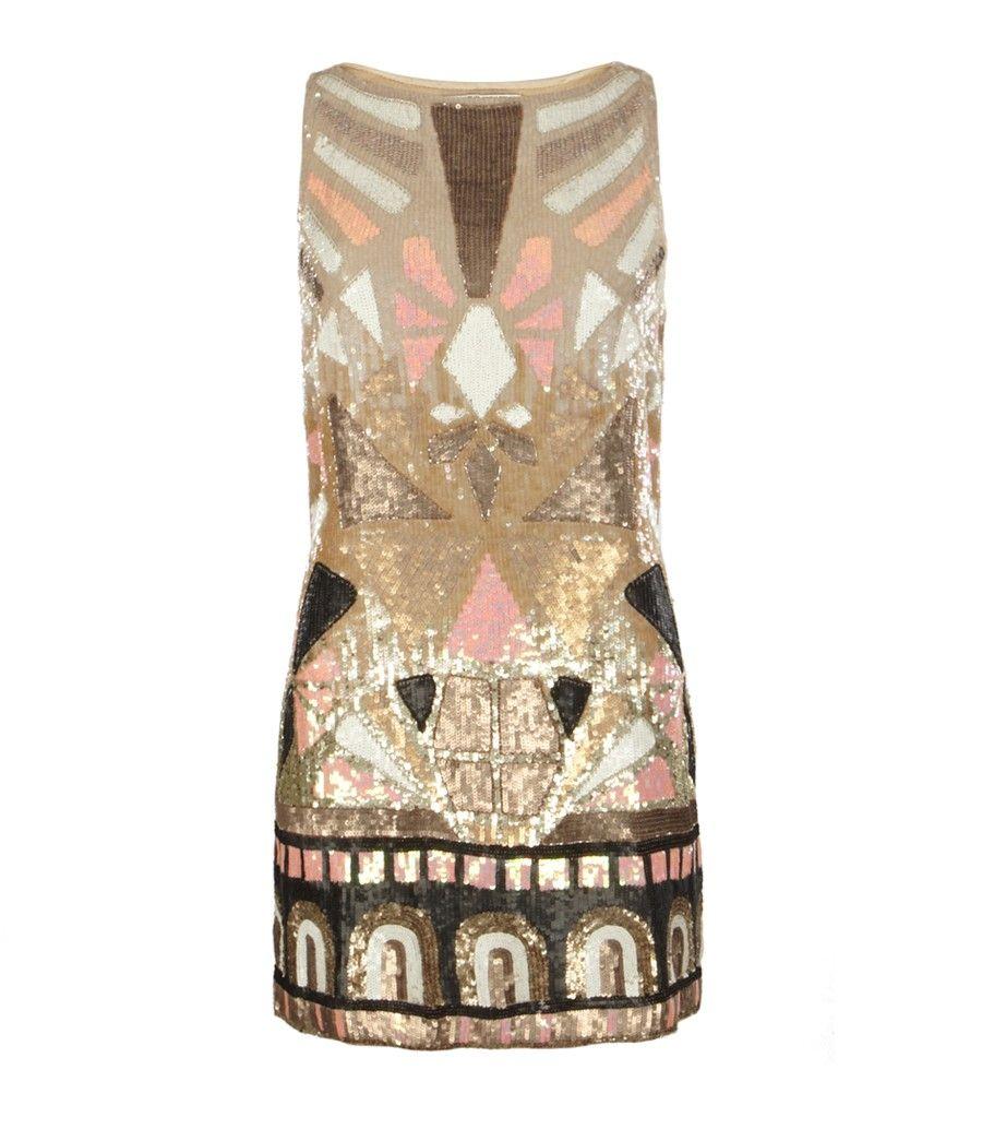 Embellished Pipali Dress, AllSaints Spitalfields | Be Meine ...