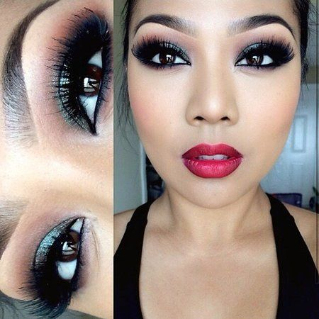 Anastasia Looks! #eyes #inspiration #smokyeye #boldips   - bellashoot.com