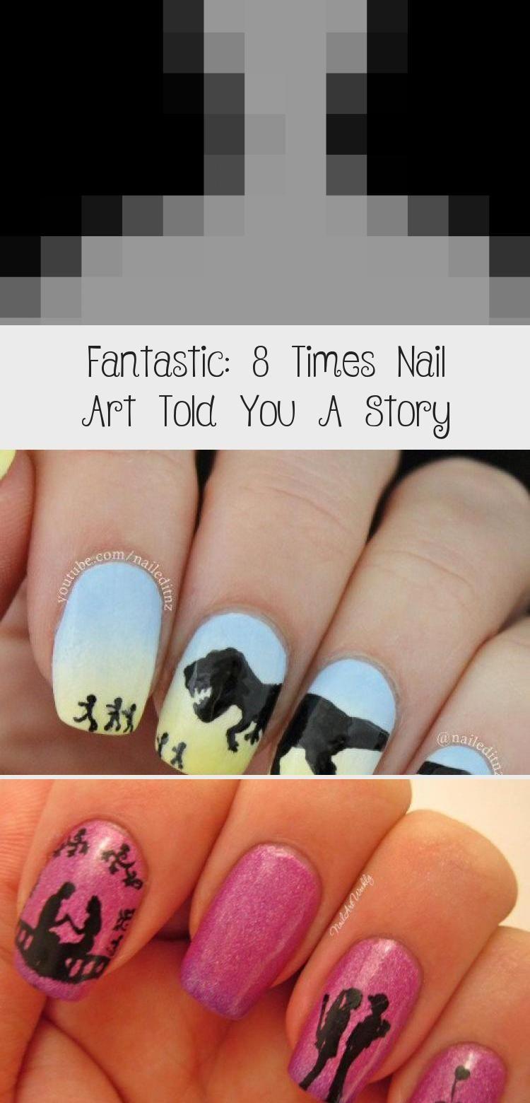 Photo of Fantastic: 8 Times Nail Art Told You A Story – Nail Art