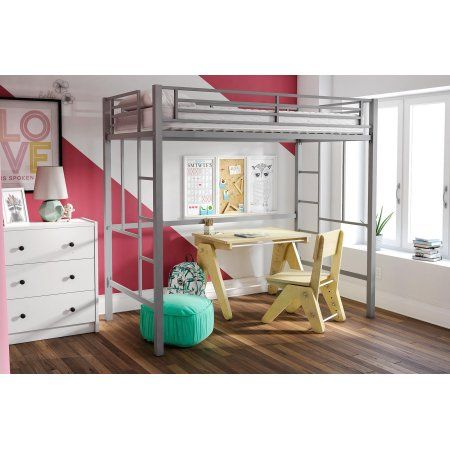 Home Twin Size Loft Bed Loft Bed Frame Bed