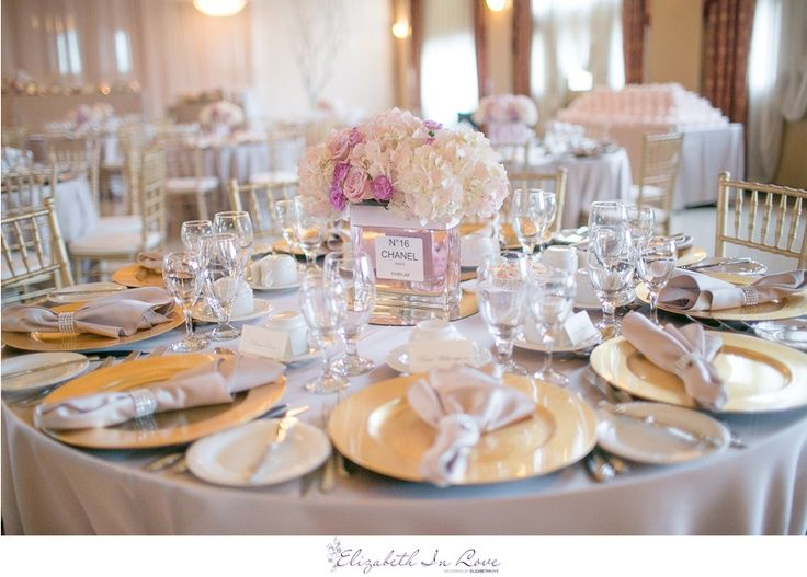 elegant bridal shower centerpieces and fabulous bridal shower chanel centerpieces low