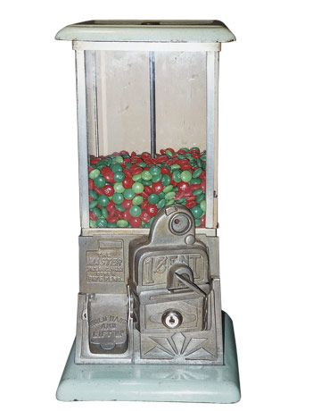 Antique Gumball Machine What Is It