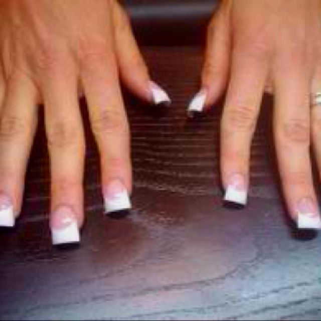 Fanned Out Nails Love These