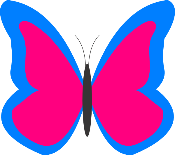 butterfly outline clipart clipart panda free clipart images rh pinterest co uk