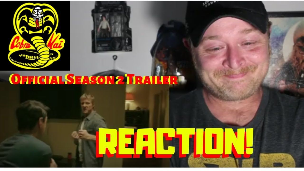 Cobra Kai Season 2 Trailer Reaction Official Season 2 Cobra Kai With Images Season 2 Kai Reactions