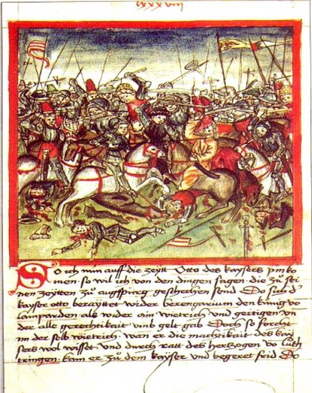Bitka pri rieke Lech