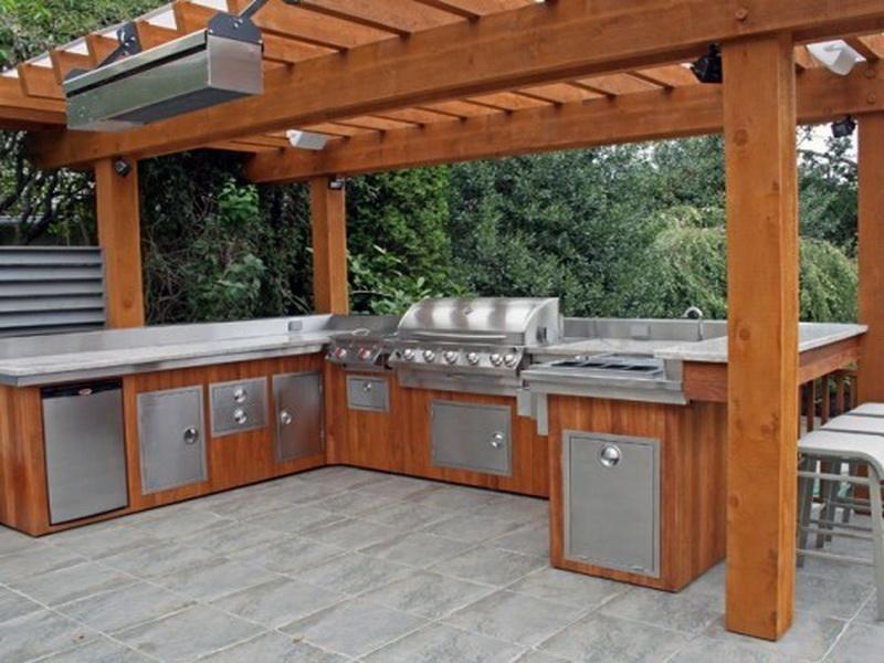 Überdachte Outdoor Küche Designs Überprüfen Sie mehr unter http ...