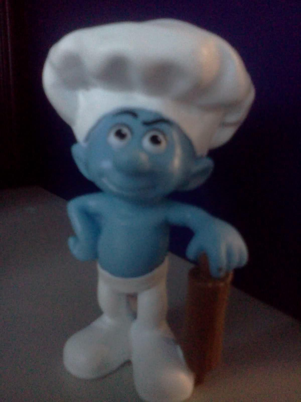 Baker Smurf Smurfs Smurfette Toy Collection