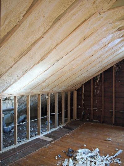 Thinking About Spray Foam Insulation What To Know About