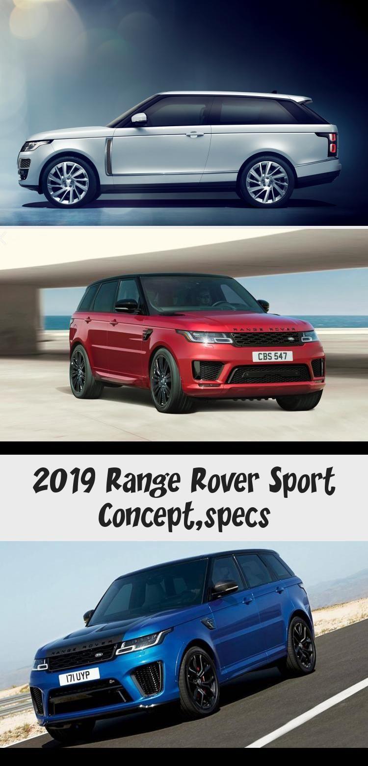 2019 Range Rover Sport Concept,specs Cars in 2020