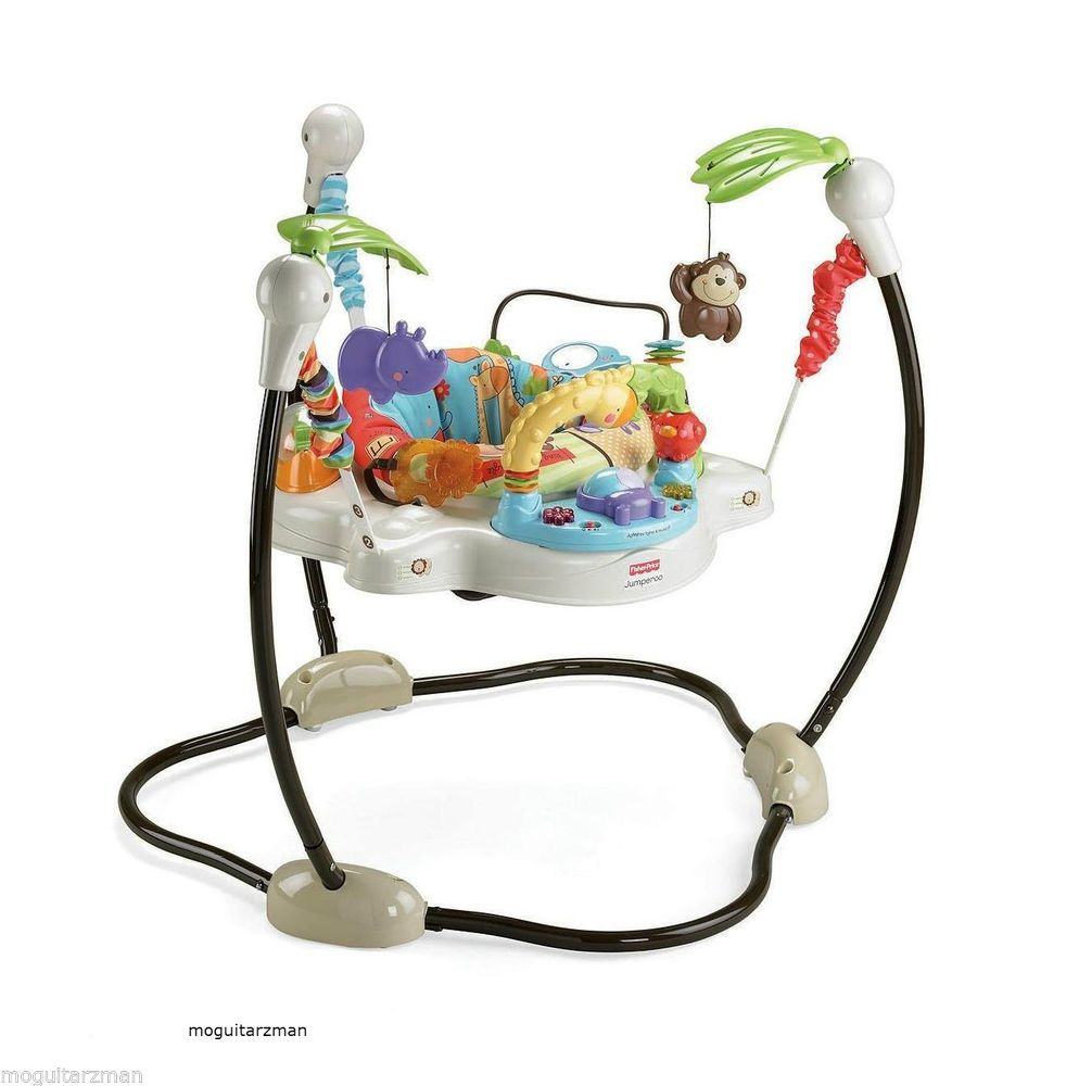 2eac2198d8b0 Baby Jumping Exerciser Rotating Seat Musical LUV U ZOO Play Station ...