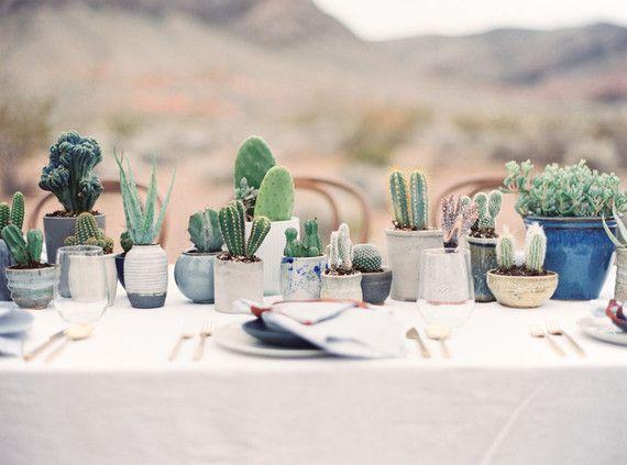 Desert and indigo wedding inspiration | Desert wedding