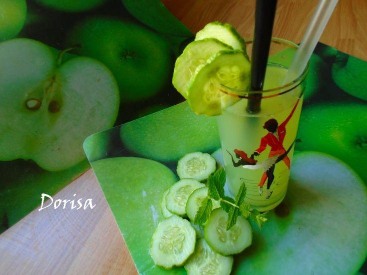 Fotorecept: Uhorková limonáda