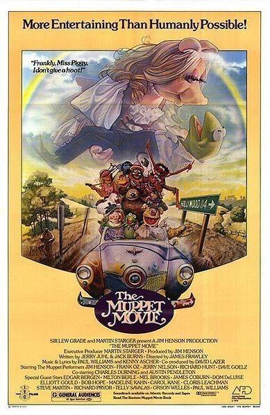 The Muppet Movie 1979 Jim Henson Peliculas De Los 80 Películas Familiares