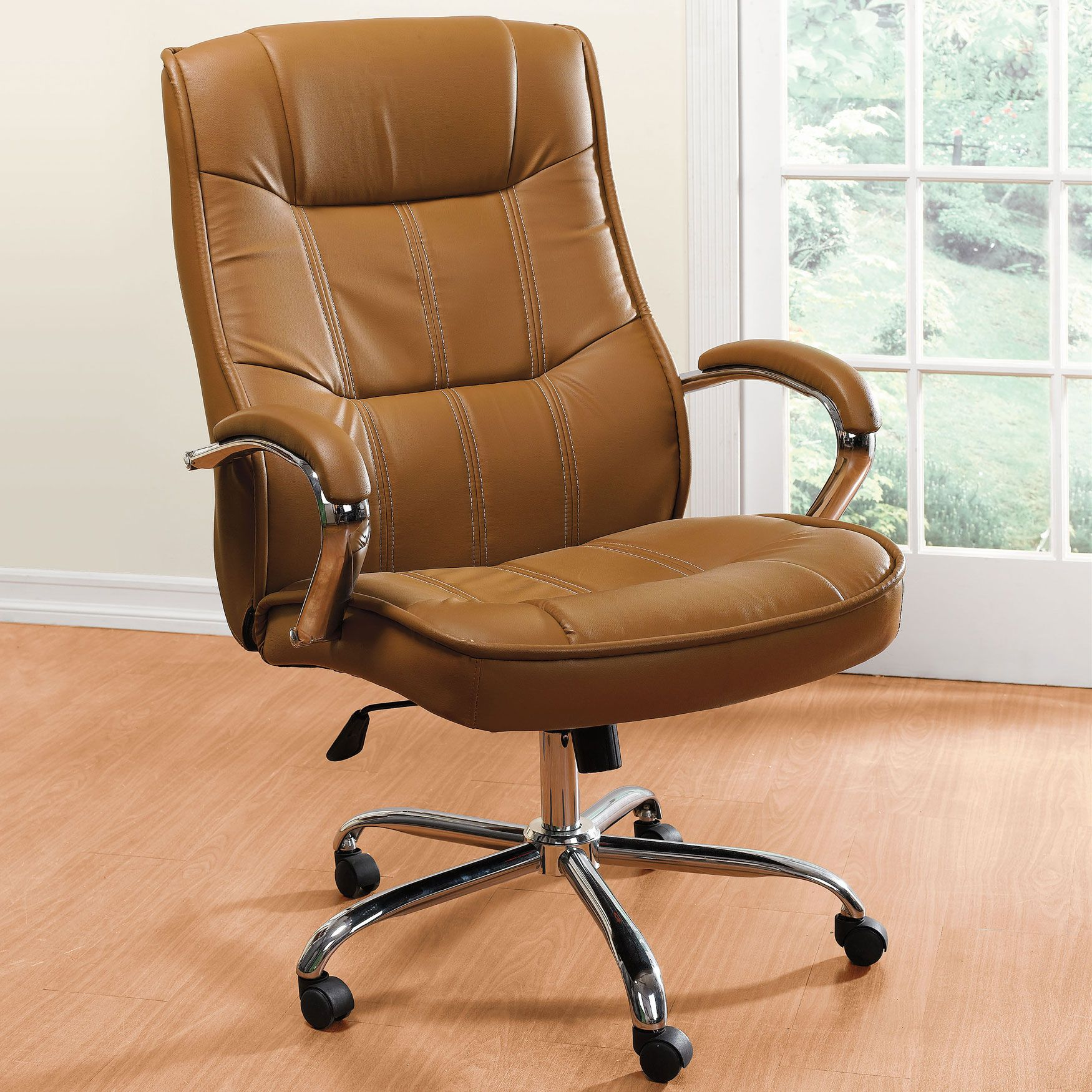 Best Big And Tall Extra Large Faux Leather Office Chair 400 x 300