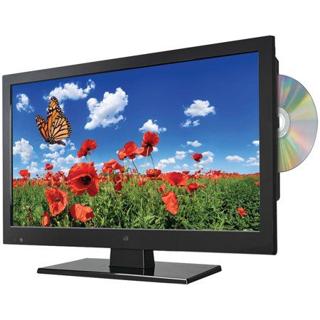 Gpx 15 6 Inch Class Hd Led Tv With Dvd Player 720p 60hz Tde1587b Black Tvs Lcd Television Led