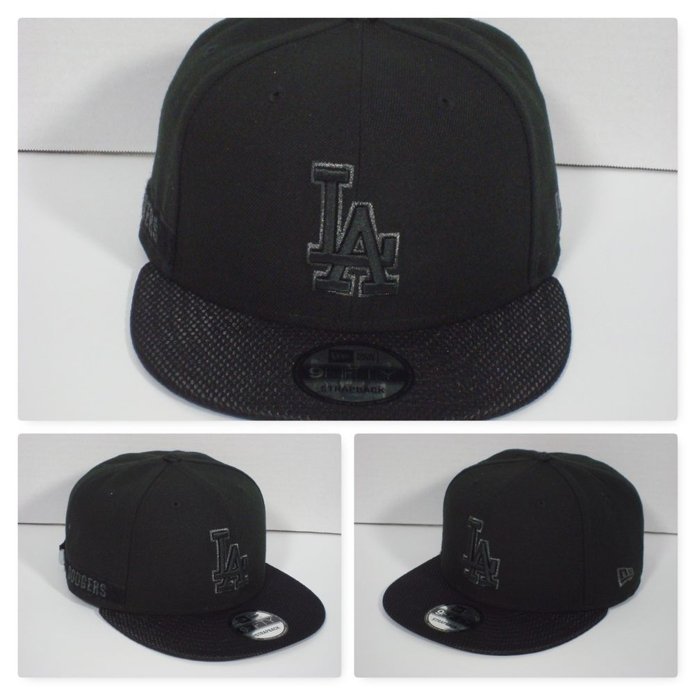d63c1880fa113 Los Angeles DODGERS Savvy Strap Black 9Fifty Snapback (Strapback)  NewEra   LosAngelesDodgers  evsportsshop