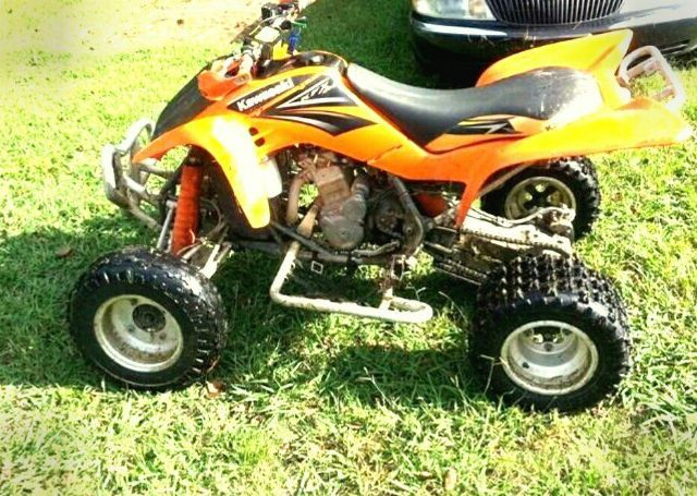 2006 kawasaki kfx 450r 4 wheeler orange for sale in henderson nc atv pinterest best atv. Black Bedroom Furniture Sets. Home Design Ideas