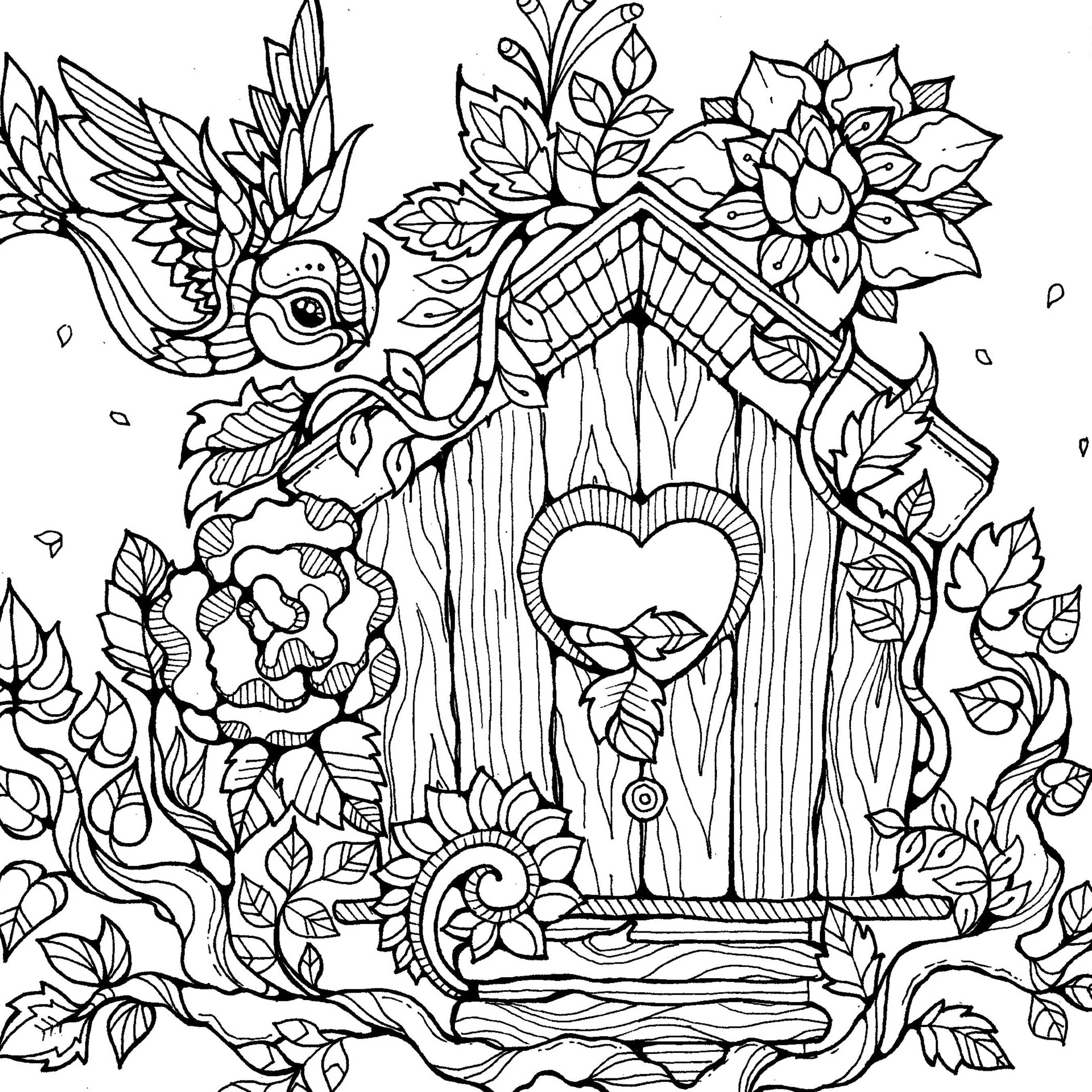 Colouring Pages by Dee Mans on Behance | ✐Zentangles ~ Adult ...