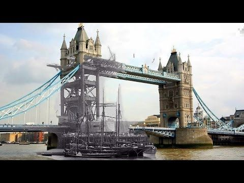 Tower Bridge Then And Now Tower Bridge Tower Old London