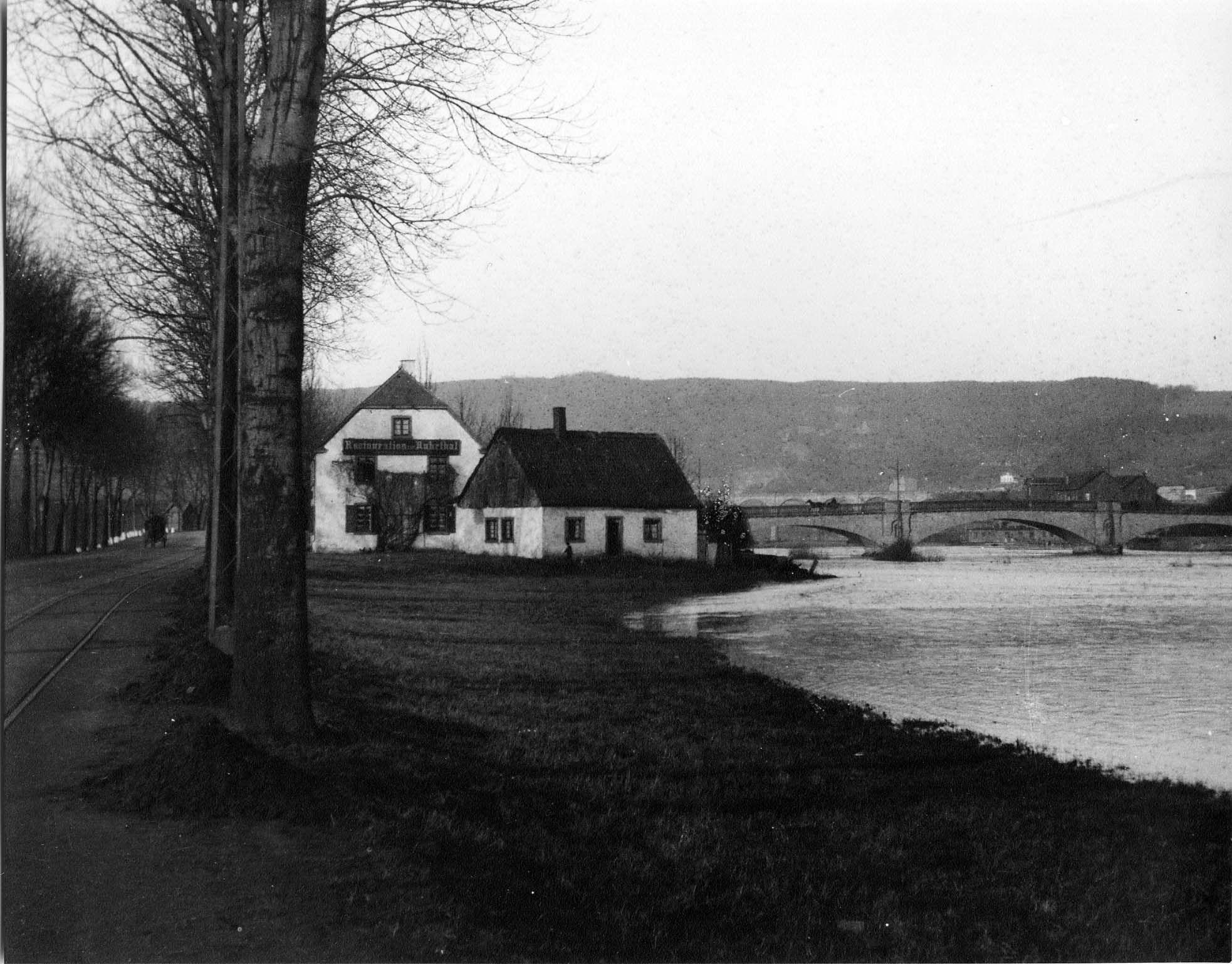 Restaurant Ruhrtal (Faßfabrik Treute), 30er Jahre
